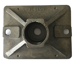 Perancah Plate Base Jack Nut for Construction